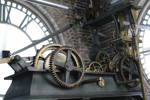 Old Courthouse Clock Mechanism