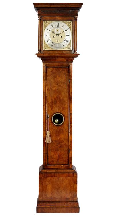 Asselyn Walnut Longcase Clock