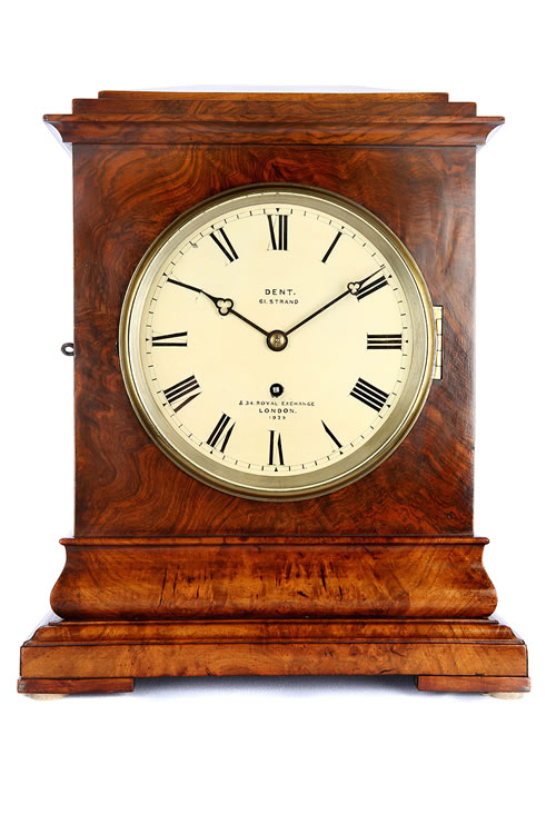 Dent Fusee Bracket Clock