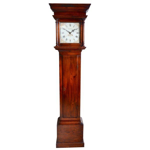 james-norman-poole-longcase-clock-trunk
