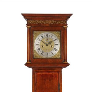 richard-haughtin-longcase-clock-hood