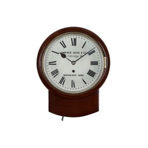 camerer-kuss-mini-drop-dial-wall-clock