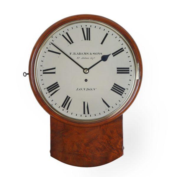 f-b-adams-and-sons-drop-dial-wall-clock