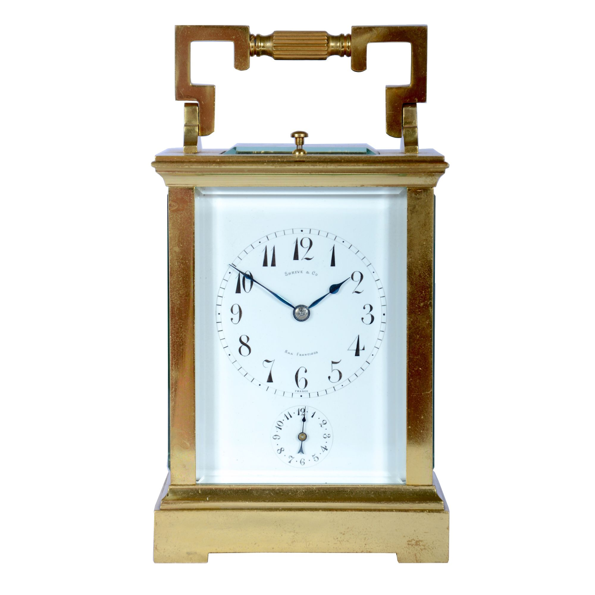 five minute repeating carriage clock