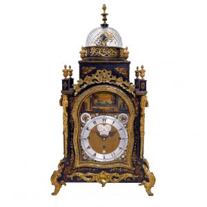 george-prior-bracket-clock-front