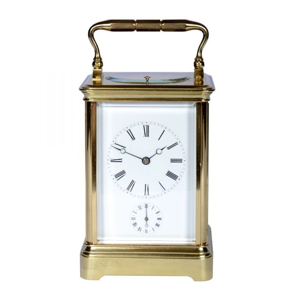 large-french-carriage-clock-alarm