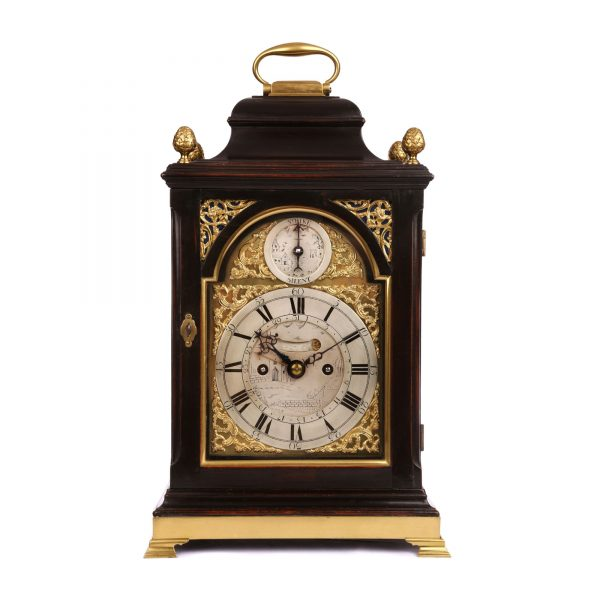 norman-poole-bracket-clock-front