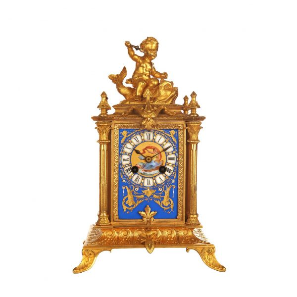 porcelain-french-mantel-clock