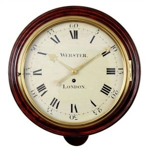 webster-fusee-dial-clock