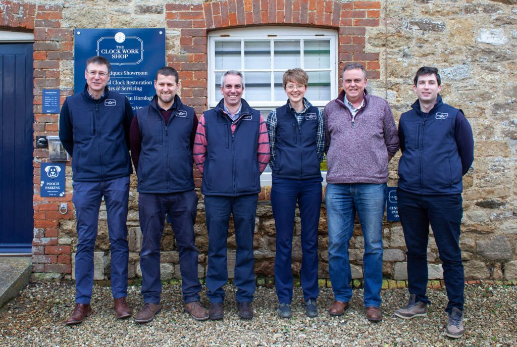 Clock-Work-Shop-Dorset-team-photo