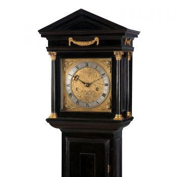 edward-stanton-architectural-longcase-clock-hood-1