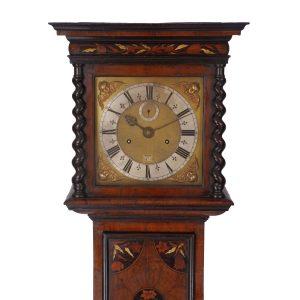 joseph-knibb-olivewood-longcase-clock-hood
