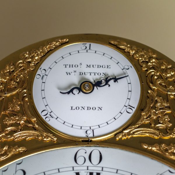 mudge-dutton-mahogany-longcase-clock-dial-3
