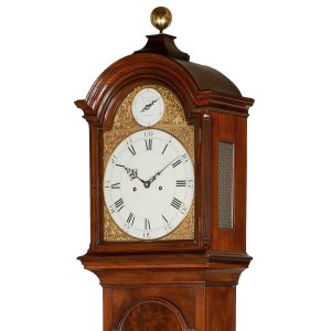 mudge-dutton-mahogany-longcase-clock-hood-1