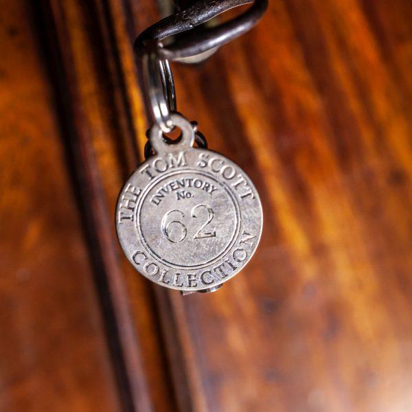 mudge-dutton-mahogany-longcase-clock-key-fob