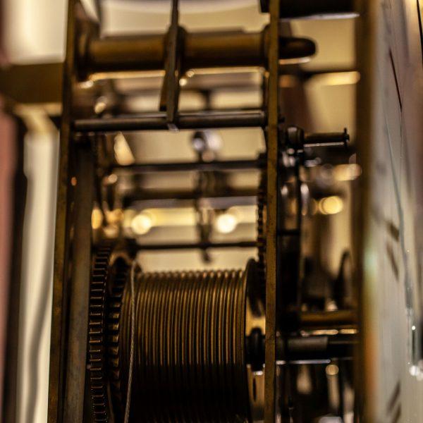 mudge-dutton-mahogany-longcase-clock-movement-1