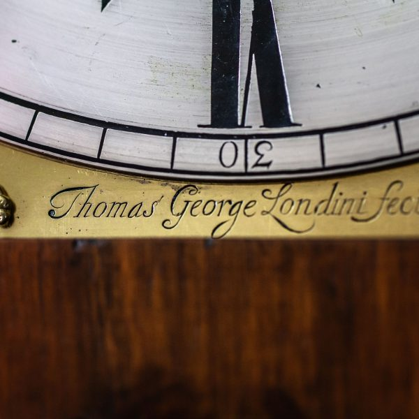 thomas-george-marquetry-longcase-clock-signature
