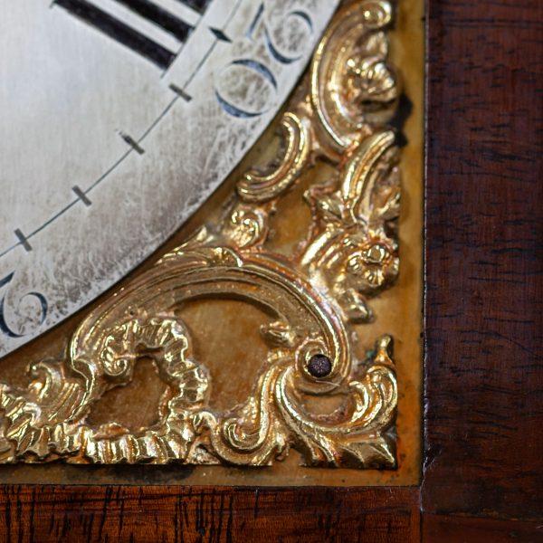 english-striking-bracket-clock-baker-london-spandrel