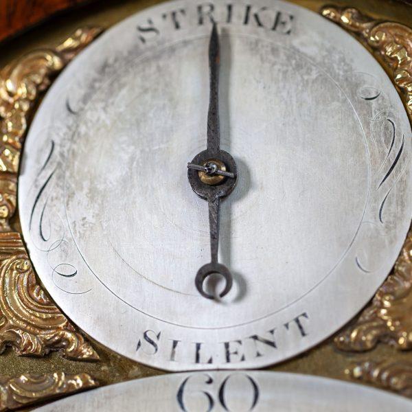 english-striking-bracket-clock-baker-london-sub-dial