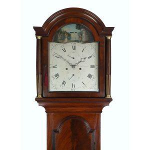 shuttlecock-windmill-longcase-clock-jonathan-morse-southampton-hood