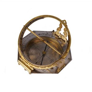 antique-octagonal-pocket-sundial-compass