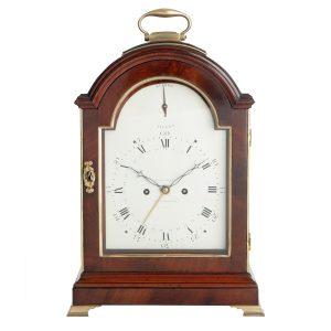 langford-southampton-mahogany-pad-top-bracket-clock