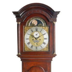 Thomas Hall, Longcase Clock, Hood